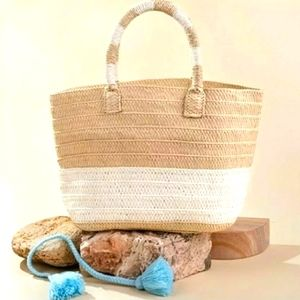 Altru Straw purse for produce, picnic or brunch!